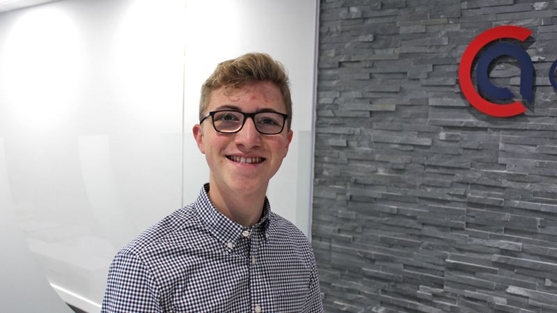 Alfie Payne work experience at Cooke & Arkwright