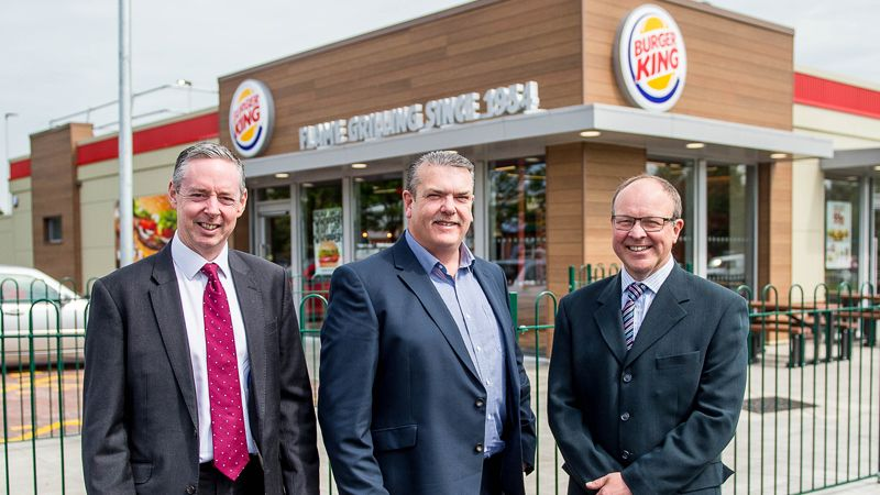 Burger King Parc Trostre with Cooke & Arkwright
