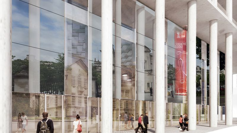Cardiff University Centre for Student Life, Cooke & Arkwright to market retail units Image 1