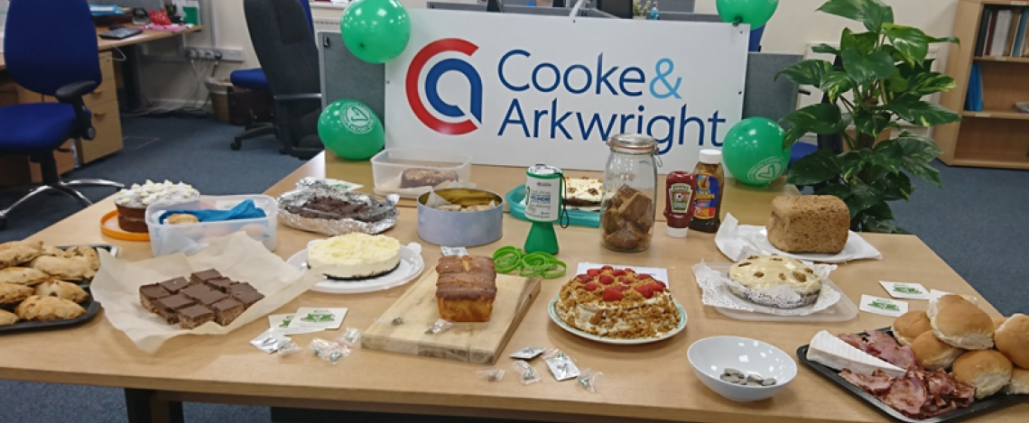 cooke & arkwright, velindre, charity