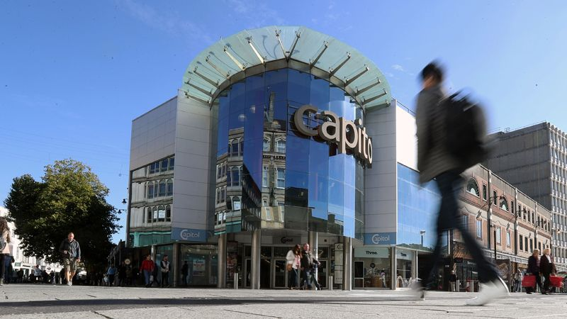 Capitol Shopping Centre Cardiff Cooke & Arkwright