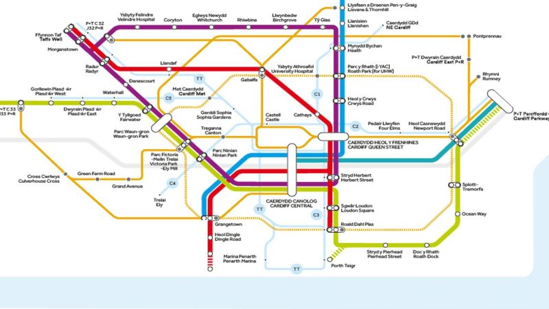 Cardiff Metro Plan Cooke & Arkwright