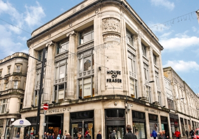 Cardiff's iconic House of Fraser building purchased