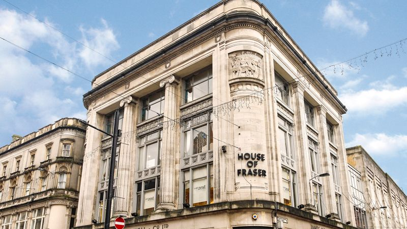 House of Fraser Cardiff Cooke & Arkwright