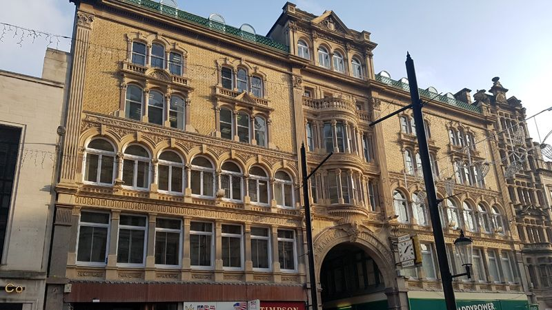 Market Buildings Cardiff for sale Cooke & Arkwright