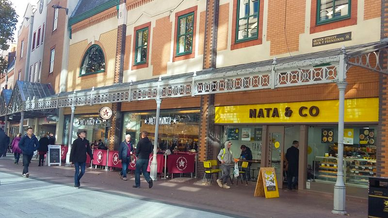 Nata Bakery Cardiff Cooke & Arkwright