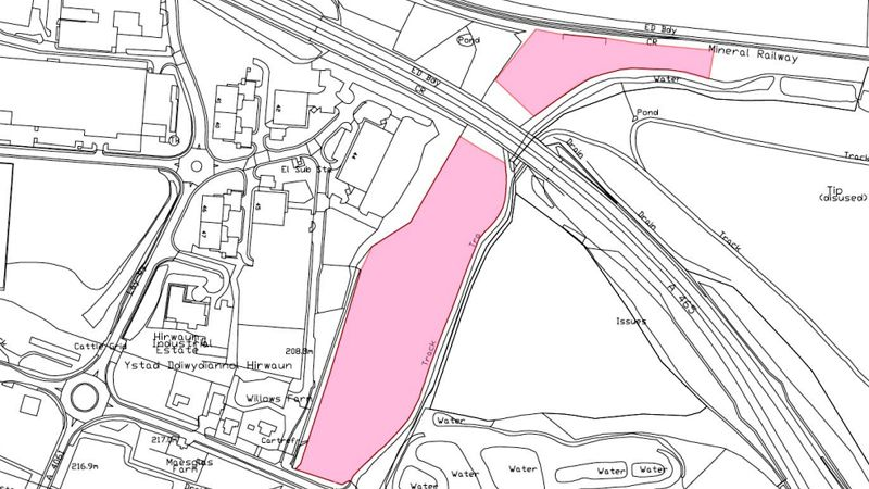 Tower mine land near Hirwaun to let by Cooke & Arkwright