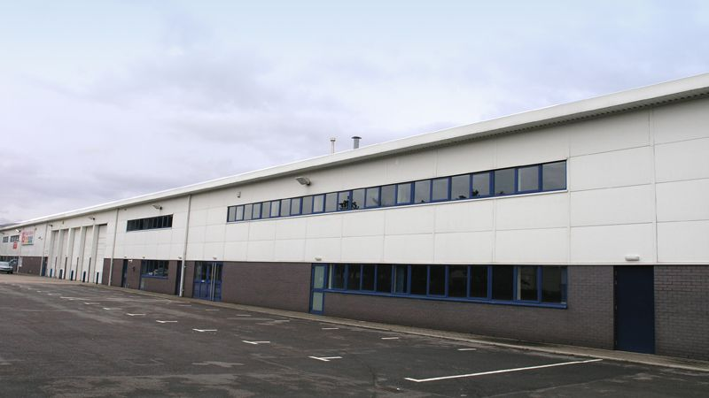 Treforest industrial unit