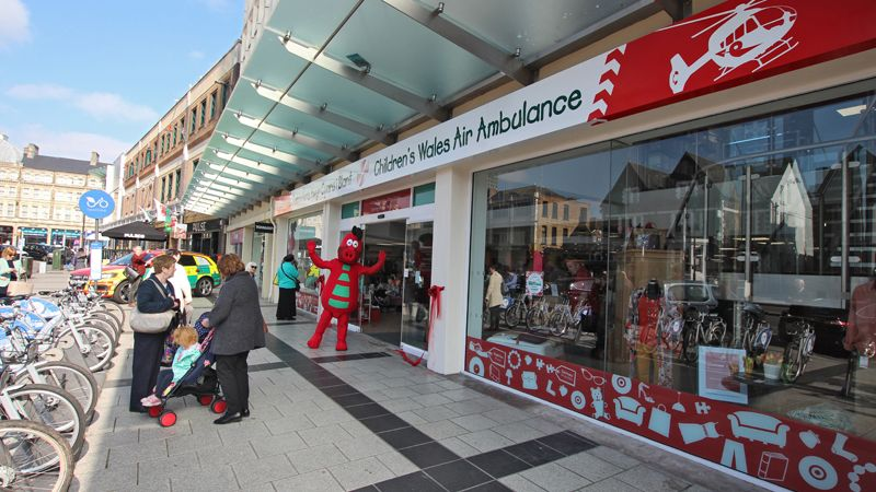 Childrens Wales Air Ambulance shop lands in Cardiff, Cooke & Arkwright