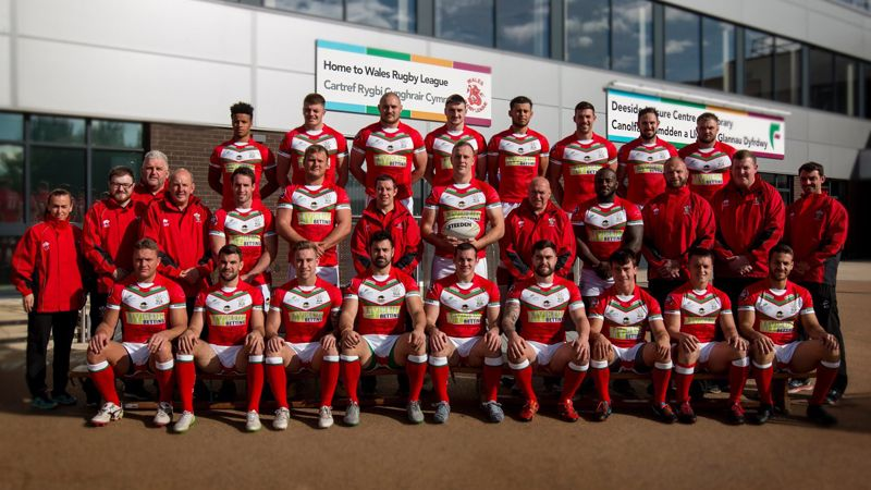 Welsh Squad Wales Rugby League World Cup